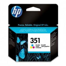 HP 351 Original Cyan, Magenta, Jaune 1 pièce(s)