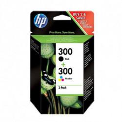 HP 300 Original Black,Cyan,Magenta,Yellow Multipack 2 pc(s)