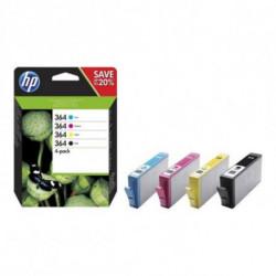 HP 364 Original Black,Cyan,Magenta,Yellow Multipack