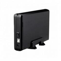 TooQ CAJA HDD 3,5 SATA A USB 2.0 NEGRA