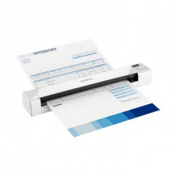 Brother DS-820W scanner 600 x 600 DPI Alimentation papier de scanner Blanc A4