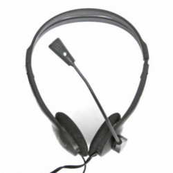 Omega Auriculares com microfone Fiesta FIS1010 Preto