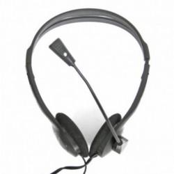 Omega Casques avec Microphone Fiesta FIS1010 Noir