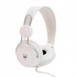 Ewent EW3578 conjunto de auscultadores e microfone Binaural Fita de cabeça Branco