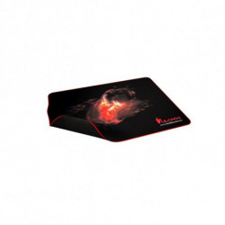Mars Gaming MMPVU1 tappetino per mouse Nero, Rosso