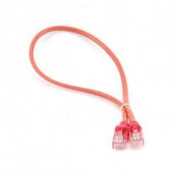 iggual IGG310779 cabo de rede 1 m Cat5e U/UTP (UTP) Vermelho