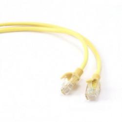 iggual IGG310748 networking cable 1 m Cat5e U/UTP (UTP) Yellow