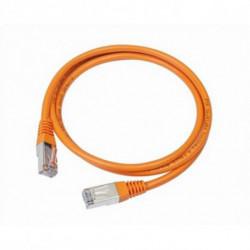 iggual IGG310687 cabo de rede 2 m Cat5e U/UTP (UTP) Laranja