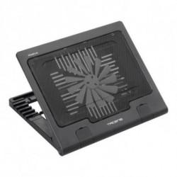 Tacens Abacus base di raffreddamento per notebook 43,2 cm (17) Nero