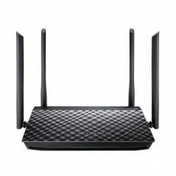 ASUS RT-AC1200G+ router sem fios Dual-band (2,4 GHz / 5 GHz) Gigabit Ethernet Preto