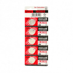 Maxell Lithiumknopfzellen CR2032 3 V