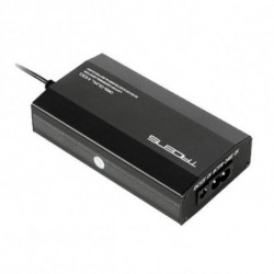 Tacens Oris Dual II 100 adaptador e inversor de corriente Universal 100 W Negro 5ORISDUALII100