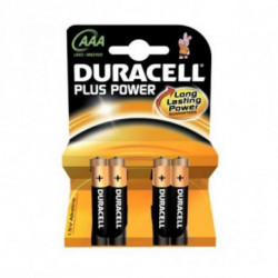 Duracell LR03 Plus 4-BL Single-use battery AAA Alcalino