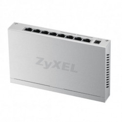 Zyxel GS-108B V3 Não-gerido L2+ Gigabit Ethernet (10/100/1000) Prateado