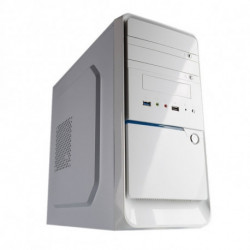 Hiditec Q3 White Edition Micro-torre Bianco