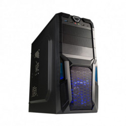 Hiditec D180 USB 3.0 Midi-Tower Black