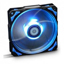 NOX Ventilador de Caja NXHUMMERF120LB HFAN 12 cm LED Azul