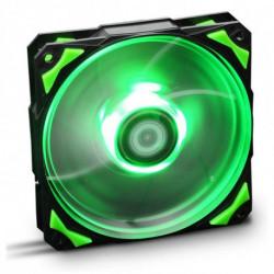 NOX Ventilador de Caja NXHUMMERF120LG HFAN 12 cm LED Verde