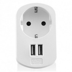 Ewent EW1211 Caricabatterie per dispositivi mobili Interno Bianco