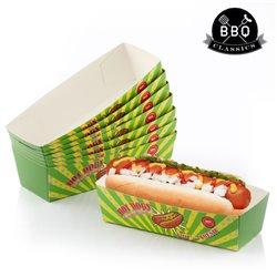 BBQ Classics Set of Hotdog Boxes (Pack of 8)