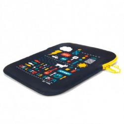 NGS Corta y Pega 12 Notebooktasche 30,5 cm (12 Zoll) Schutzhülle Mehrfarbig