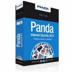 Panda Internet Security 2013 3 license(s) 1 year(s)