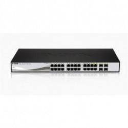 D-Link DGS-1210-24 switch Gestionado L2 Negro