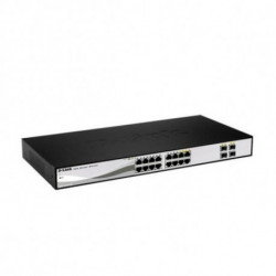 D-Link DGS-1210-16 switch di rete Gestito L2 Nero