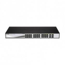 D-Link DGS-1210-24P comutador de rede L2 Gigabit Ethernet (10/100/1000) Preto