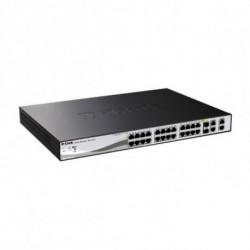 D-Link DGS-1210-28P comutador de rede Gerido L2 1U Apoio Power over Ethernet (PoE)