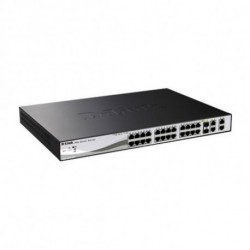 D-Link DGS-1210-28P Netzwerk-Switch Managed L2 1U Power over Ethernet (PoE)