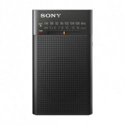 Sony ICF-P26 rádio Portátil Análogo Preto
