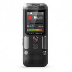 Philips Voice Tracer VTR5200/93 dictáfono Tarjeta flash Gris