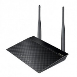 ASUS RT-N12 D1 router sem fios Single-band (2,4 GHz) Ethernet rápida Preto