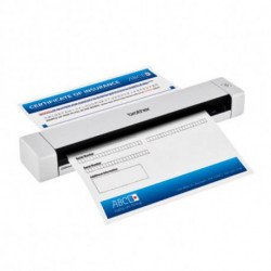 Brother DS-620 scanner 600 x 600 DPI Sheet-fed scanner Black,White A4