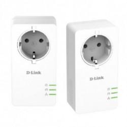 D-Link DHP-601AV 1000 Mbit/s Collegamento ethernet LAN Bianco 2 pezzo(i)