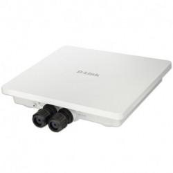 D-Link AC1200 point d'accès réseaux locaux sans fil 1200 Mbit/s Connexion Ethernet, supportant l'alimentation via ce port (P...