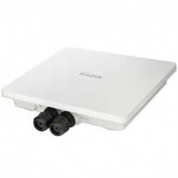 D-Link AC1200 punto accesso WLAN 1200 Mbit/s Supporto Power over Ethernet (PoE) Bianco