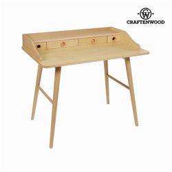 Secretária em madeira 4 gavetas - Modern Coleção by Craftenwood
