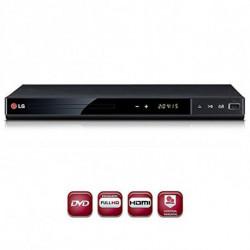 LG DP542H DVD player Noir