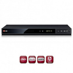 LG DP542H DVD player Schwarz