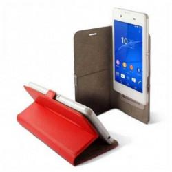 KSIX Housse Universelle pour Mobile BXFU13T4 5RJ 4.5 Rouge