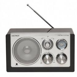 Denver Electronics TR-61BLACKMK2 Radio portable Numérique Noir