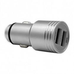 TenGO! Cargador de Coche RT3115BT 2 USB Metal