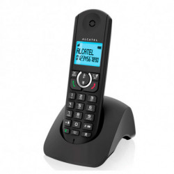 Alcatel Telefone sem fios F380S Duo Preto