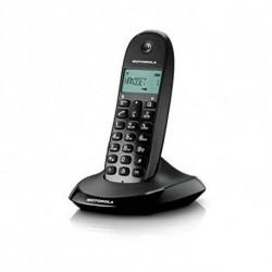 Motorola C1001L Telefone DECT Preto ID do Emissor e Nome