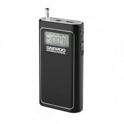 Daewoo Tragbares Radio DRP 125 Schwarz