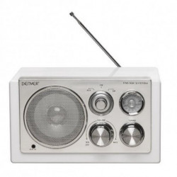 Denver Electronics TR-61WHITEMK2 radio Portatile Digitale Bianco