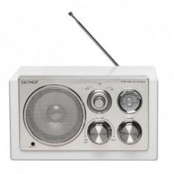 Denver Electronics TR-61WHITEMK2 Radio Tragbar Digital Weiß