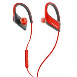 Panasonic Auricolare Bluetooth Sportivo con Microfono RP-BTS30E Rosso